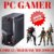 Cpu Gamer Core i3 8gb 500gb Wifi Windows10 + Placa Vídeo 2gb - Imagem 1