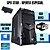 Cpu Desktop Core i3 4gb Ram 500gb Win10 Teclado E Mouse Nova - Imagem 1