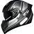 Capacete GP Tech V128 Faster Com Viseira Solar Matte - Cinza - Imagem 3