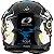 Capacete O'Neal 3Series Helmet Villain 2.0 - Preto/Branco - Imagem 2