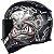 Capacete Axxis Eagle Bull Cyber Matte - Preto/Cinza - Imagem 7
