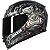Capacete Axxis Eagle Bull Cyber Matte - Preto/Cinza - Imagem 6