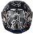 Capacete Axxis Eagle Bull Cyber Matte - Preto/Cinza - Imagem 8