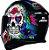 Capacete Axxis Eagle Skull Gloss - Preto/Azul - Imagem 6