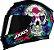 Capacete Axxis Eagle Skull Gloss - Preto/Azul - Imagem 5