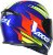 Capacete Axxis Eagle Speed Gloss - Azul/Amarelo - Imagem 5