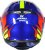 Capacete Axxis Eagle Speed Gloss - Azul/Amarelo - Imagem 4
