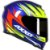 Capacete Axxis Eagle Speed Gloss - Azul/Amarelo - Imagem 1