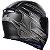 Capacete Axxis Eagle Speed Matte - Preto/Cinza - Imagem 6