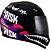 Capacete Norisk FF391 Ride Hard - Preto/Rosa - Imagem 1