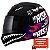 Capacete Norisk FF391 Ride Hard - Preto/Rosa - Imagem 2
