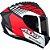 Capacete Axxis Draken Z96 Matte - Preto/Vermelho/Branco - Imagem 1