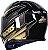 Capacete Axxis Eagle Speed Gloss - Preto/Dourado - Imagem 3