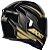 Capacete Axxis Eagle Speed Gloss - Preto/Dourado - Imagem 5