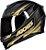 Capacete Axxis Eagle Speed Gloss - Preto/Dourado - Imagem 2