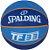 Bola De Basquete Spalding NBA 3X - Borracha - Azul - Imagem 1