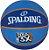 Bola De Basquete Spalding NBA 3X - Borracha - Azul - Imagem 2