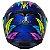 Capacete Axxis Eagle Dreams Gloss - Azul - Imagem 8