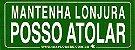 "Adesivo ""Mantenha lonjura posso atolar"" - Imagem 1"