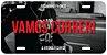 "Placa Decorativa Corrida ""Vamos Correr"" - Imagem 1"