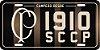"Placa Decorativa Corinthians ""SCCP 1910"" - Imagem 2"