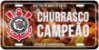 Placa Decorativa Corinthians  - Churrasco - Imagem 2
