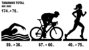 Adesivo CROMADO - Corredora - Triathlon - Imagem 9