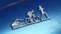 Adesivo CROMADO - Corredora - Triathlon - Imagem 8