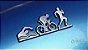 Adesivo Triathlon - MASC (Cromado e Preto) - Imagem 1