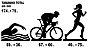 Adesivo Triathlon - FEM (Cromado e Preto) - Imagem 3