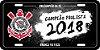 Placa Decorativa Corinthians - #BicampeãoDaFé - Imagem 1