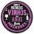kit com 10 Porta Copo - Vinho  - Imagem 1