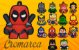 kit com 15  chaveiros Emborrachado - Personagens  - Imagem 2