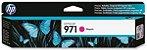 Cartucho HP 971 Magenta Original (CN623AM) Para HP Officejet Pro X476dw, X451dw CX 1 UN - Imagem 1