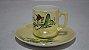 Mini Xícara Chá Café Com Pires Porcelana Japonesa - Imagem 1