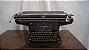 Antiga Máquina De Escrever Continental  - Imagem 1