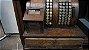 Antiga Máquina Caixa Registradora National Base De Madeira - Imagem 3