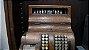 Antiga Máquina Caixa Registradora National Base De Madeira - Imagem 2