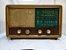 Antigo Rádio Vencedor Em Madeira   - Imagem 1