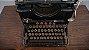 Antiga Maquina De Escrever Remington Funcionando - Imagem 4