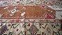 Antigo Tapete Persa De Oração Legitimo Vermelho 1,21x184m - Imagem 3