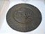 Antigo Prato Para Decoração De Bronze Europeu Auto Relevo - Imagem 1