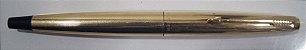 Caneta Tinteiro Parker Dourada 12k made in U.S.A - Imagem 4