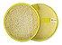 Bucha Vegetal Luxo Confort Amarelo Fibra Forte Revenda - Imagem 1