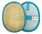 Esponja Bucha Vegetal Baby Mash Azul Fibra Forte Revenda - Imagem 1