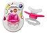 Mordedor Massageador Chupeta Alivio Para Gengiva do Bebê Dentição Rosa - Imagem 1