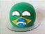 Brasilball de pelúcia + Brasilball de Biscuit - Countryballs - Imagem 1