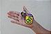 Chaveiro FEB  Cobra Fumando Patch Bordado + Brasilball - Imagem 1