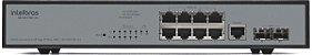 Switch 8 Portas 2 Portas Mini-gbic Intelbras Sg 1002 Mr L2+ - Imagem 4