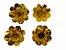 Forminha Metalizada Dourada com 30 unidades - Imagem 1